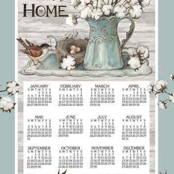 Calendar Towel 2020 - Cottonwood