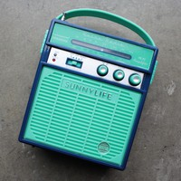 sunnylife - retro sounds radio & speaker