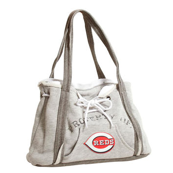 Cincinnati Reds MLB Property Of Hoodie Purse