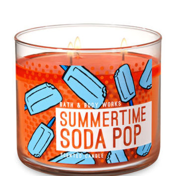 SUMMERTIME SODA POP3-Wick Candle