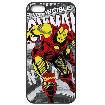 Anymode Marvel Comics Iron Man Hard Case for Apple iPhone 5 / 5s / SE