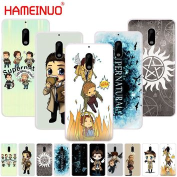 HAMEINUO cool Supernatural tv logo cover phone case for Nokia 9 8 7 6 5 3 Lumia 630 640 640XL 2018
