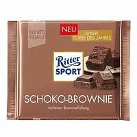 Ritter Sport Chocolate Brownie 3.5 oz.