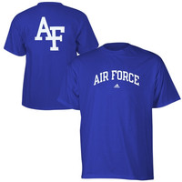 Air Force Falcons adidas Relentless T-Shirt – Royal Blue