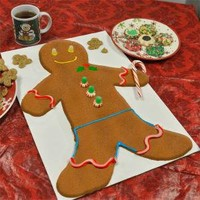 Great Big Gingerbread Man Kit : Giant Gingerbread Man Kit