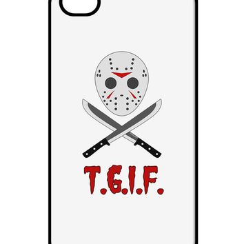Scary Mask With Machete - TGIF iPhone 4 / 4S Case