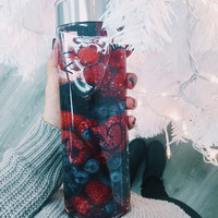Navy Ella Water Bottle