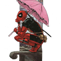 Deadpool Print by Amelia Davis