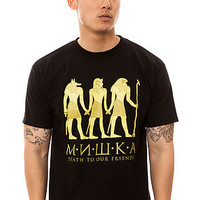 Mishka Tee Anubis in Black