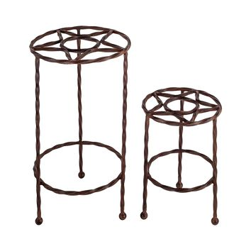 Tejas Set of 2 Plant Stands