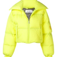 Neon Yellow Down Jacket by MISBHV