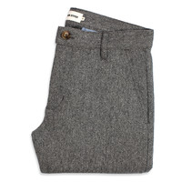 The Telegraph Trouser - Ash Tweed Herringbone