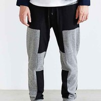 Shades Of Grey By Micah Cohen Paneled Jogger Pant- Black
