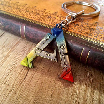 ARK: Survival Evolved Metal Keychain Gamer Gift