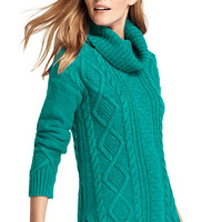 Women's Cozy-Lofty Cable Turtleneck Sweater