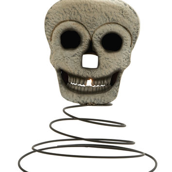 Marvelous Metal Skeleton Candle Holder