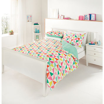 George Home Palm Springs Geo Duvet Range | Bedding | ASDA direct