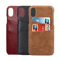 PU Leather Phone Case for iPhone8 / iPhoneX