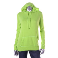 Polo Ralph Lauren Womens Cashmere Ribbed trim Hoodie