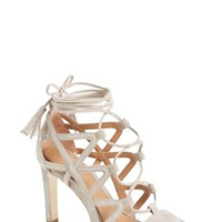 Elie Tahari 'Hurricane' Lace-Up Sandal (Women) | Nordstrom