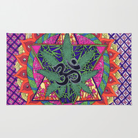 namaste Area & Throw Rug by Natasha Marie | Society6