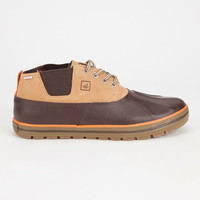 Sperry Fowl Weather Mens Chukka Boots Brown  In Sizes