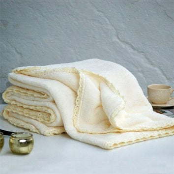 Cream blanket,Twin blanket,Winter blanket,Soft blanket,Warm blanket,Cozy blanket,Turkish blanket,Home decor,Cream,