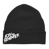 A Day To Remember: B-Side Logo Beanie (Black)