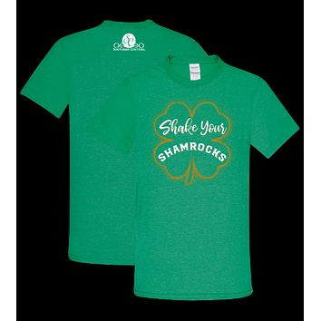 Southern Couture Preppy Shake Your Shamrocks Irish T-Shirt