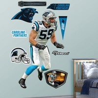 Fathead® NFL Carolina Panthers Luke Kuechly Away Wall Graphic