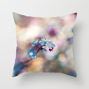 Memories Throw Pillow by Kristopher Winter