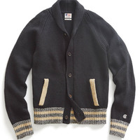 Black Baseball Jacket Sweater