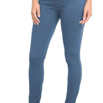 Onte Skinny Maternity Adjustable Fold Over Waistband Pants