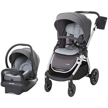Baby Stroller 5-in-1 Travel System Baby Pram with Infant Car Seat 2018 Version