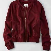 AEO TENCEL BOMBER JACKET