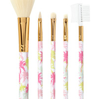 Tropical Print Brush Set