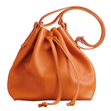 J.McLaughlin Tangerine Champers Bag - Orange Shoulder Bag - ShopBAZAAR