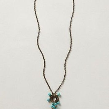 NWT Anthropologie Dianthus Pendant Necklace