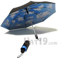 Mini Sky Automatic Umbrella: The Umbrella with the Eternally Cheerful Sky