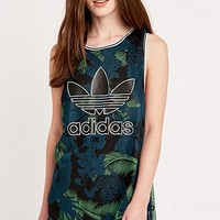Adidas Hawaii Tank Top in Green - Urban Outfitters