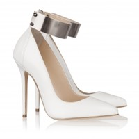 METAL ANKLE STRAP PUMP - Shop - Olcay Gulsen