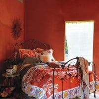 Zocalo Embroidered Quilt by Anthropologie