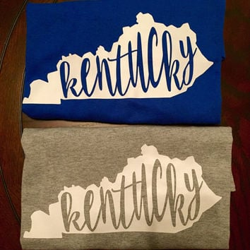 Kentucky state T shirt