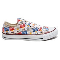Converse x Andy Warhol - Chuck Taylor All Star Oxford (White/Casino/Vision Blue)