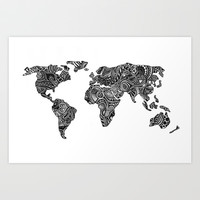 World Art Print by Hugo F G