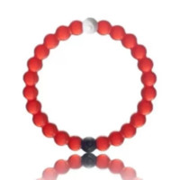 Lokai Bracelet Red Blue Pink White Camo