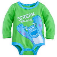Sulley Disney Cuddly Bodysuit for Baby - Monsters, Inc.