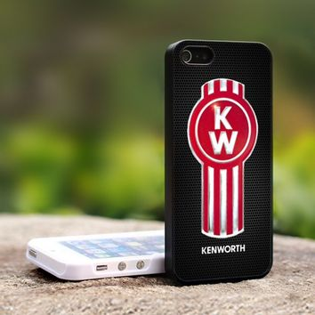 Kenworth Logo - For iPhone 4,4S Black Case Cover
