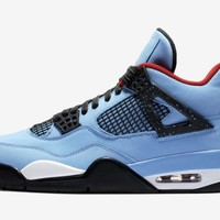 BC HCXX Nike Air Jordan Retro 4 NRG Cactus Jack Travis Scott Blue 2018 (NO Codes)