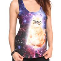 Space Cat Girls Tank Top